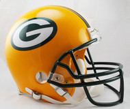 Green Bay Packers Riddell Full Size Authentic Proline Helmet
