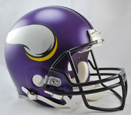 Minnesota Vikings Matte Purple Riddell Full Size Authentic Proline Helmet