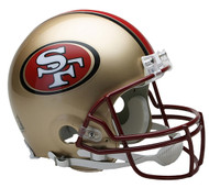 San Francisco 49ers 1996-2008 Riddell Full Size Authentic Proline Helmet