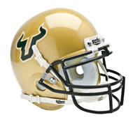 South Florida Bulls Schutt Mini Authentic Helmet