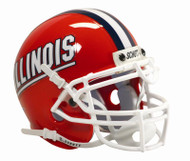 Illinois Fighting IlliniSchutt Full Size Authentic Helmet
