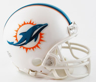 Miami Dolphins Throwback 2013-2017 Riddell Mini Helmet