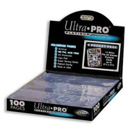 1 full case of 1000 Ultra-Pro Platinim 9-card - Holo Pocket Pages