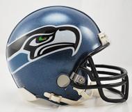 Seattle Seahawks 2002-2011 Throwback Riddell Mini Helmet