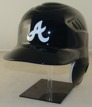 Atlanta Braves Navy Road Rawlings Coolflo LEC Full Size Baseball Batting Helmet