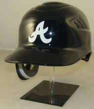Atlanta Braves Navy Road Rawlings Coolflo REC Full Size Baseball Batting Helmet