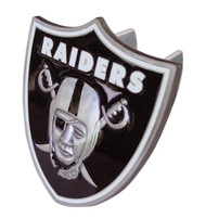 OAKLAND RAIDERS LARGE NFL TRUCK TRAILER HITCH COVER