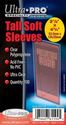 Ultra-Pro TALL Soft Sleeves 500 (5 PACKS)