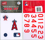 Anaheim Los Angeles Angels Batting Helmet Rawlings Decal Kit