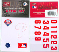 Philadelphia Phillies Batting Helmet Rawlings Decal Kit