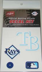 Tampa Bay Rays Batting Helmet Rawlings Decal Kit