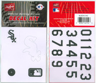 Chicago White Sox Batting Helmet Rawlings Decal Kit