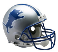 Detroit Lions 1983-02 Throwback Riddell Full Size Authentic Helmet