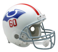 New England Patriots 1960 Throwback Riddell Full Size Authentic Helmet