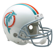 Miami Dolphins 1973-79 Throwback Riddell Full Size Authentic Helmet