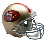 San Francisco 49ers 1964-95 Throwback Riddell Full Size Authentic Helmet