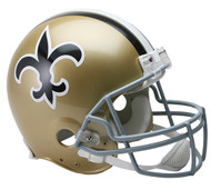 New Orleans Saints 1967-75 Throwback Riddell Full Size Authentic Helmet