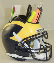 Michigan Wolverines Mini Helmet Desk Caddy by Schutt