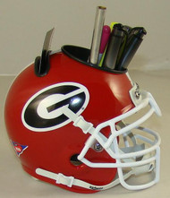 Georgia Bulldogs Mini Helmet Desk Caddy by Schutt