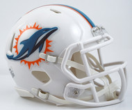 Miami Dolphins Throwback 2013-2017 Revolution SPEED Mini Helmet