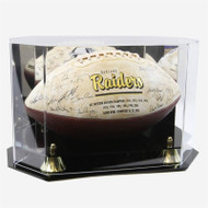 DELUXE FULL SIZE FOOTBALL OCTAGON DISPLAY