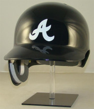 Atlanta Braves Navy Blue Road Rawlings Classic REC Full Size Baseball Batting Helmet