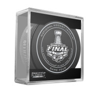 2014 NHL Stanley Cup Finals Playoff Sherwood Official Game Puck - Game 4 (Four)