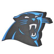 Carolina Panthers 3D Fan Foam Logo Sign