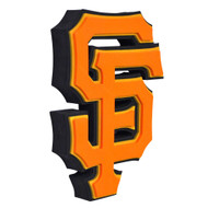 San Francisco Giants 3D Fan Foam Logo Sign
