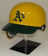 Oakland A's Rawlings Yellow REC Throwback Full Size Baseball Batting Helmet