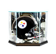 Perfect Cases Octagon Full Size Football Helmet Display Case
