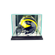 Deluxe Real Glass Mini Helmet Display Case