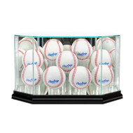 Deluxe Real Glass 9 Baseball Display Case