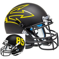 Arizona State Sun Devils Black Big Fork Alternate Schutt Mini Authentic Helmet