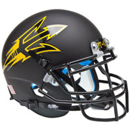 Arizona State Sun Devils Alternate Black PT-42 Schutt Mini Authentic Helmet