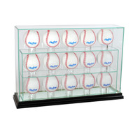 Deluxe Real Glass Fifteen UPRIGHT Display Case