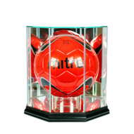Deluxe Real Glass Soccer Ball Display Case