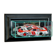 Deluxe Real Glass Wall Mounted Single 1/24th NASCAR Display Case