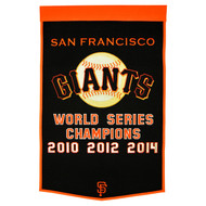 San Francisco Giants Dynasty Banner