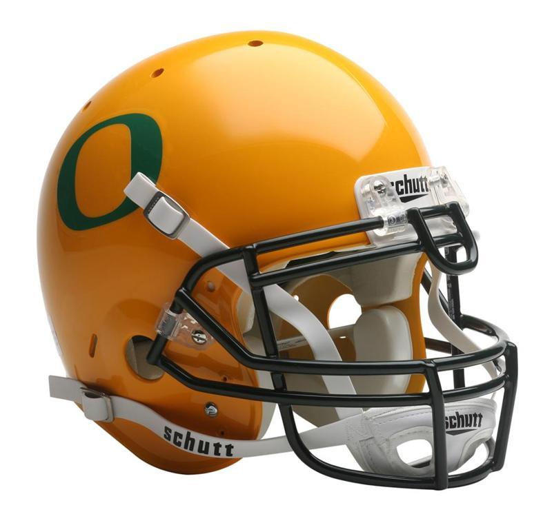 Oregon Ducks Schutt Yellow Full Size Authentic Helmet. Schutt · Image 1 abb2708b1