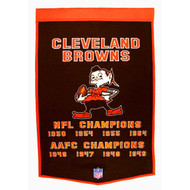 Cleveland Browns Dynasty Banner