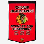 Chicago Blackhawks Dynasty Banner