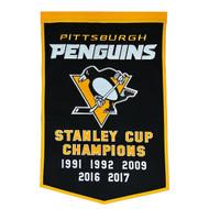 Pittsburgh Penguins Dynasty Banner