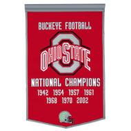 Ohio State Buckeyes Dynasty Banner