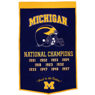Michigan Wolverines Dynasty Banner