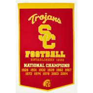 USC Trojans Dynasty Banner