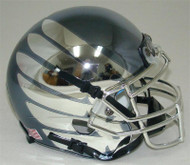 Oregon Ducks Authentic Schutt Mini Football Helmet - Smoke with Chrome Wings