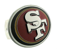 San Francisco 49ers LARGE NFL TRUCK TRAILER HITCH COVER