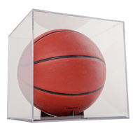 Grandstand Basketball / Soccer / Volley Ball Display with Clear Base and Stand with UV Protection