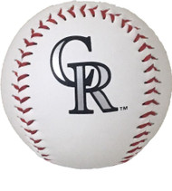 "Colorado Rockies Rawlings ""The Original"" Team Logo Baseball"